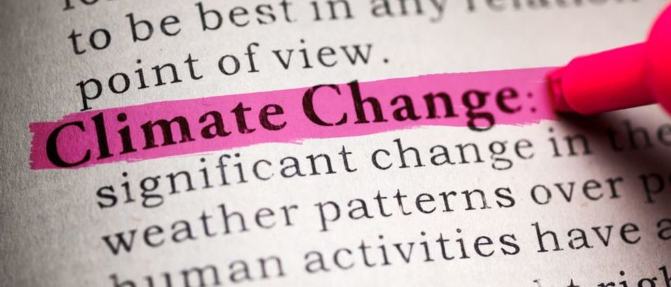 Fake Dictionary, definition of the word Climate Change (Feng Yu/Shutterstock)