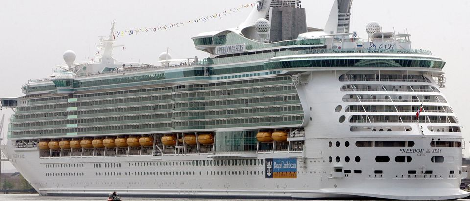 The new cruise ship Freedom of the Seas,