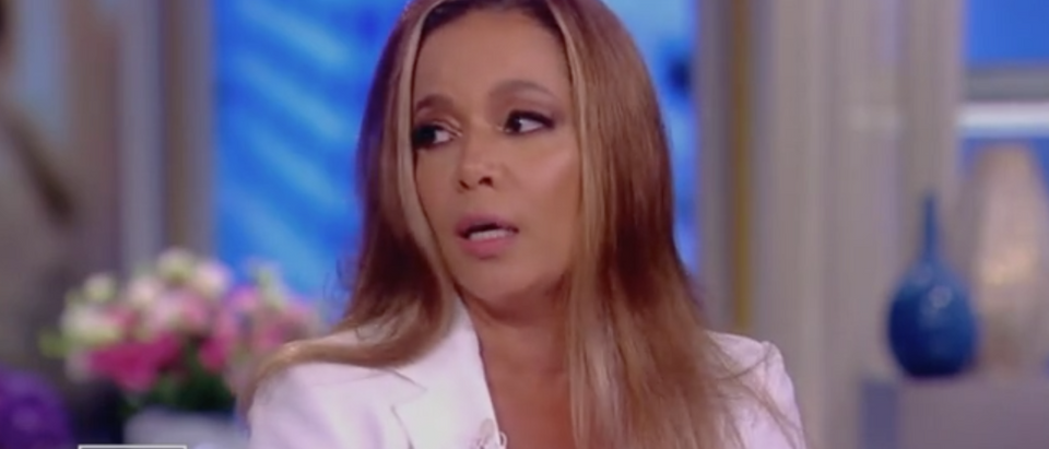 "Sunny Hostin appears on ABC's ""The View,"" 7/30/2019. Screen Shot/ABC"