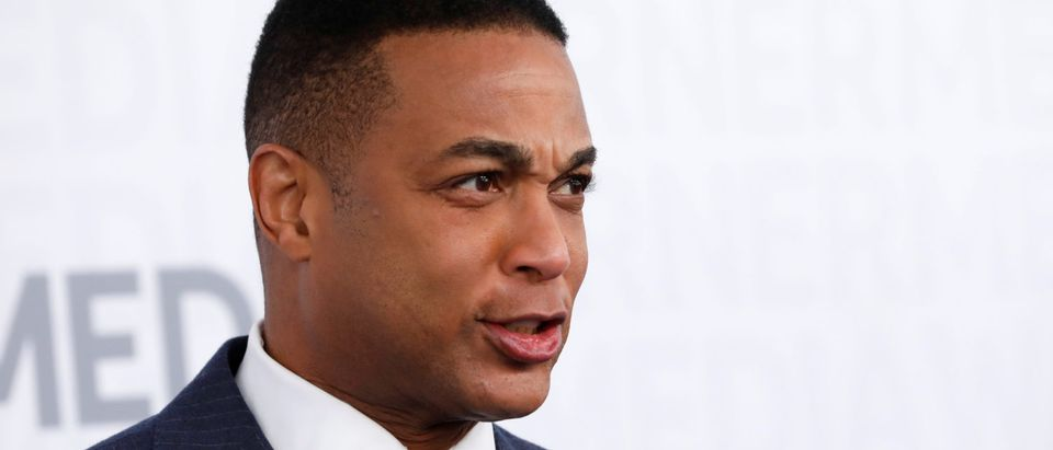 CNN television news anchor Don Lemon poses as he arrives at the WarnerMedia Upfront event in New York City, New York, U.S., May 15, 2019. REUTERS/Mike Segar