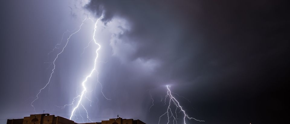 Lightning Strikes South Boston Boat