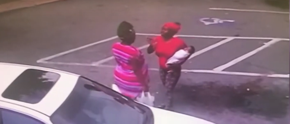 Mother Drops Baby In Fist Fight