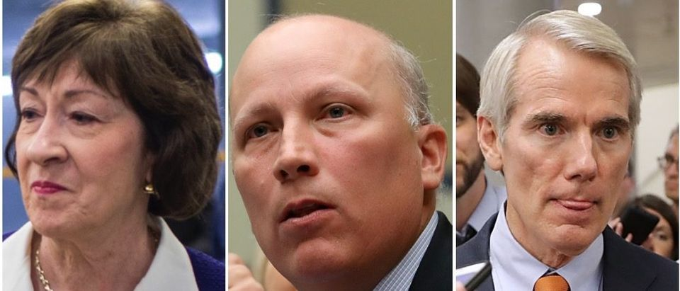 Many Republicans have come out against Trump's recent tweets against Democratic congresswomen. (Zach Gibson/Getty Images, Win McNamee/Getty Images, Chip Somodevilla/Getty Images)
