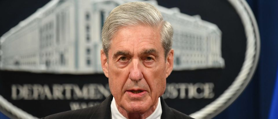 Special Counsel Robert Mueller arrives to speak on the investigation into Russian interference in the 2016 Presidential election, at the US Justice Department in Washington, DC, on May 29, 2019. (Photo by MANDEL NGAN / AFP) (Photo credit should read MANDEL NGAN/AFP/Getty Images)