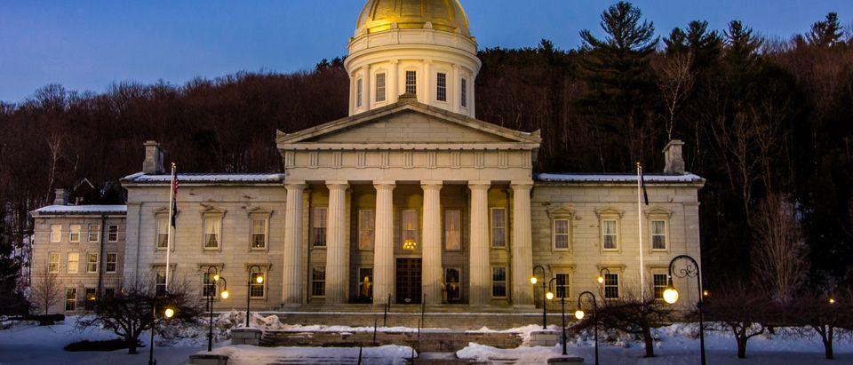 Vermont's capitol building in Montpelier. Philip R.