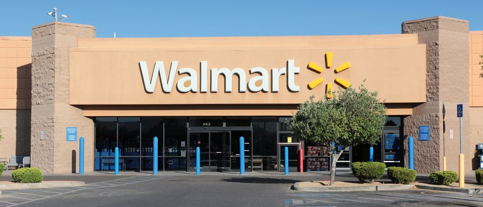 Walmart is a retail corporation with more than 5,000 locations. Shutterstock image via tupungato
