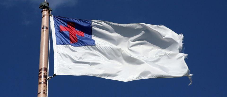 Christian Flag (Shutterstock)