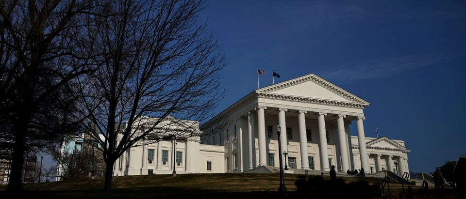 RICHMOND, VA - FEBRUARY 07: The Virginia State Capitol stands in downtown Richmond, Virginia, February 7, 2019. Virginia state politics are in a state of upheaval, with Governor Ralph Northam and State Attorney General Mark Herring both admitting to past uses of blackface and Lt. Governor Justin Fairfax accused of sexual misconduct. (Photo by Drew Angerer/Getty Images)