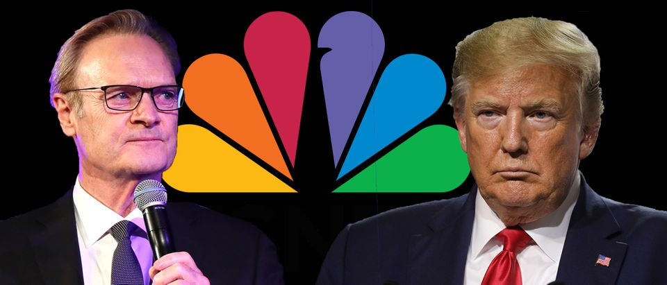 Lawrence O'Donnell, Donald Trump (Getty Images, Daily Caller)