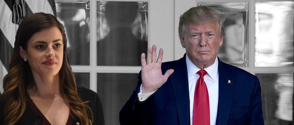 Madeleine Westerhout, Donald Trump (Getty Images, Daily Caller)