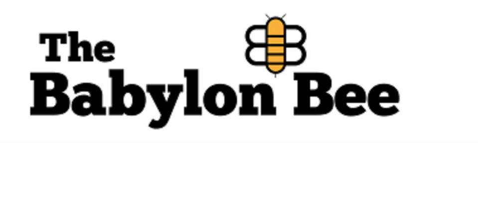 Babylon Bee Logo/Homepage screenshot