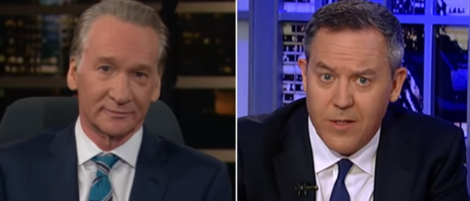 Bill Maher, Greg Gutfeld (HBO and Fox News screengrabs)
