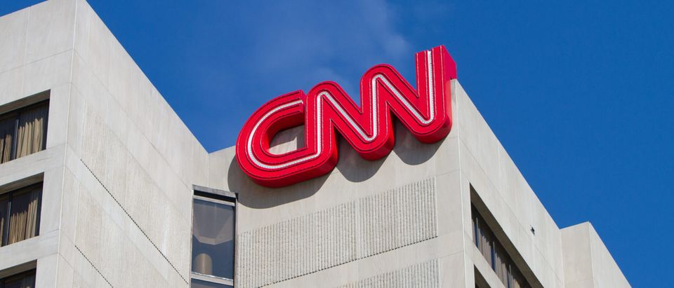 CNN headquarters broadcast the news about Hurricane Irma, which hit the southeastern coast of the United States. Shutterstock