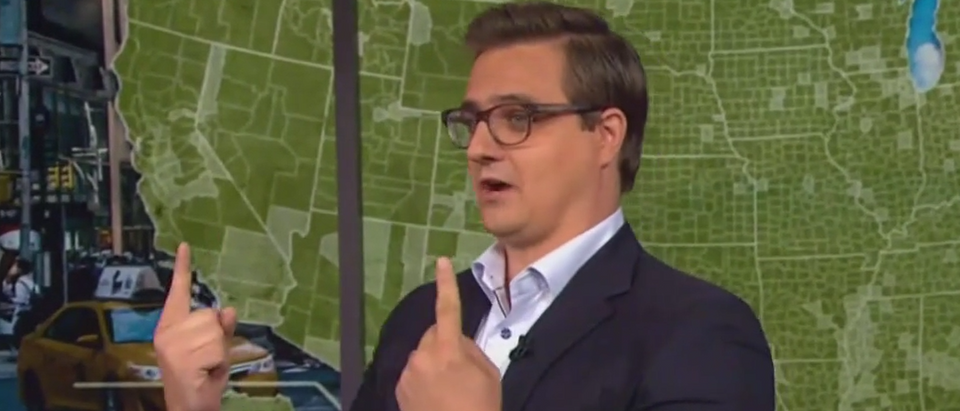 Chris Hayes on Electoral College (MSNBC screengrab)