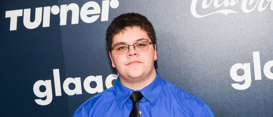 Gavin Grimm attends the GLAAD Rising Stars Luncheon in New York City on May 5, 2017. (Ben Gabbe/Getty Images for GLAAD)