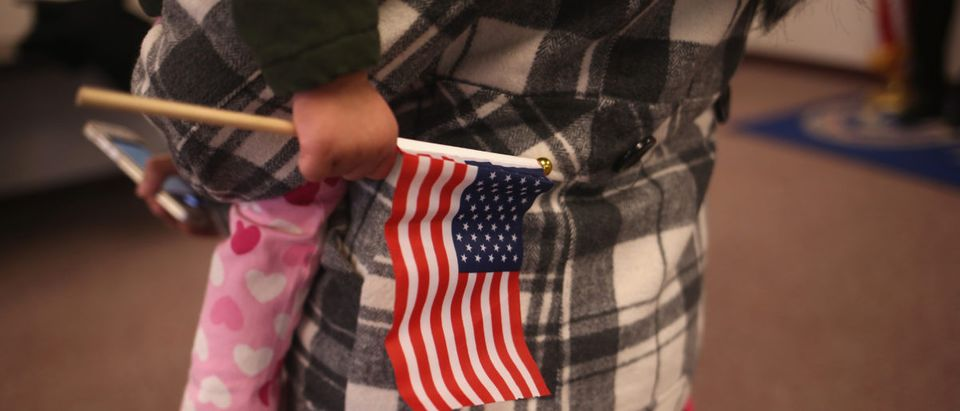 New US Citizens Naturalized At NJ Ceremony