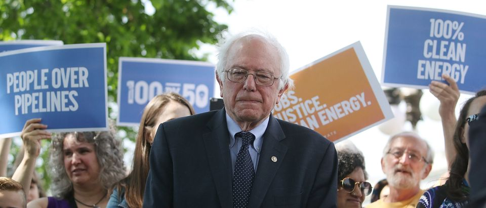 Sanders Introduces Climate Legislation That Would Eliminate Use Of Fossil Fuels