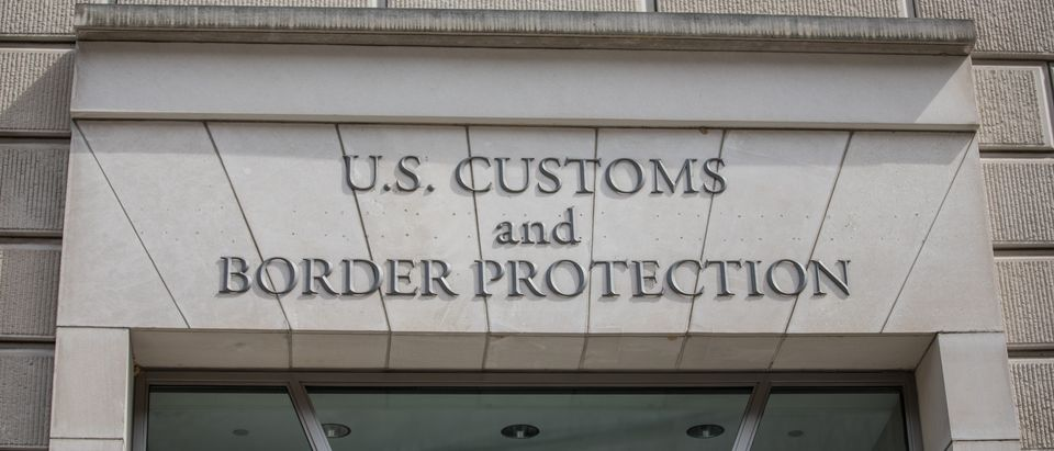 The entrance to the U.S. Customs and Border Protection building, the largest federal law enforcement agency of the U.S. Department of Homeland Security, is pictured. Shutterstock