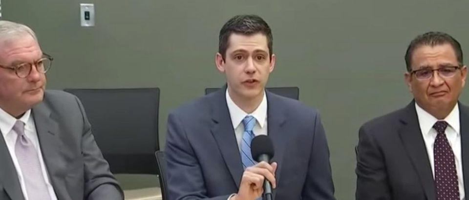 U.S. Attorney John Bash holds a press conference in wake of El Paso shooting, Aug. 4, 2019. (YouTube screen capture/ Fox News)