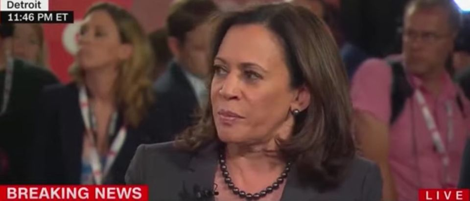 California Sen. Kamala Harris on CNN, July 31, 2019. (YouTube screen capture)