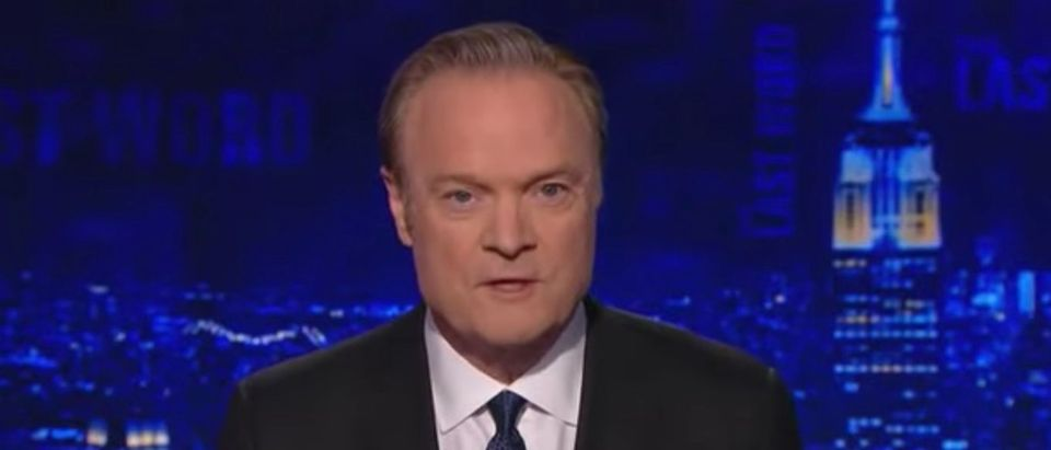 Lawrence O'Donnell is pictured on MSNBC, Aug. 28, 2019. (YouTube screen capture)