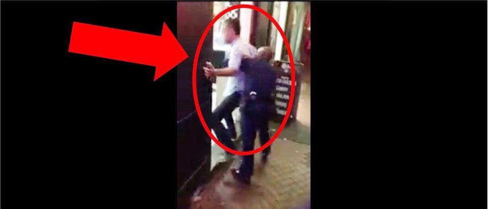 Police Body Slam LiveLeak Video (Credit: Screenshot/LiveLeak Video https://www.liveleak.com/view?t=AYJS_1567007727)