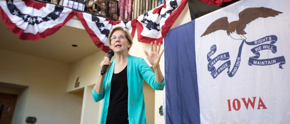 Democratic 2020 presidential candidate Elizabeth Warren visits Iowa