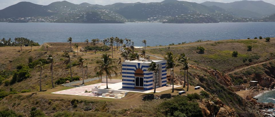 A building at Little St. James Island, one of the properties of financier Jeffrey Epstein, is seen in an aerial view, near Charlotte Amalie, St. Thomas, U.S. Virgin Islands July 21, 2019. (Photo: REUTERS/Marco Bello)