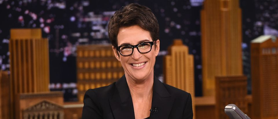"Rachel Maddow visits ""The Tonight Show Starring Jimmy Fallon"" on March 15, 2017 in New York City. (Theo Wargo/Getty Images for NBC)"