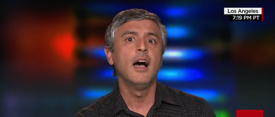 Reza Aslan is known for his promotion of violence against Conservatives. (YOUTUBE/CNN)