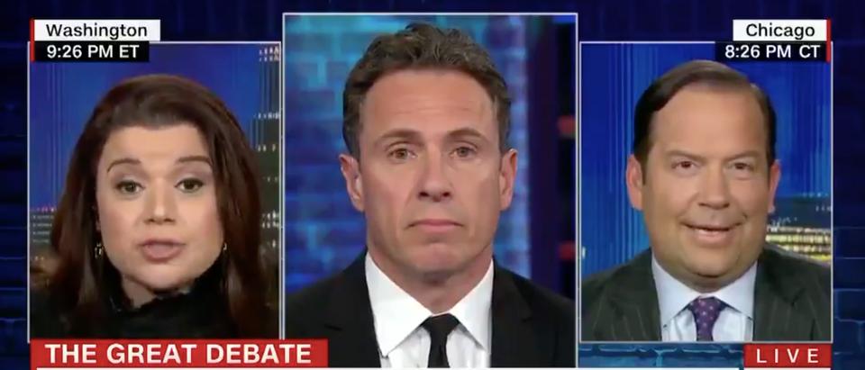 Ana Navarro calls Donald Trump Jr. Fredo in January. CNN screenshot