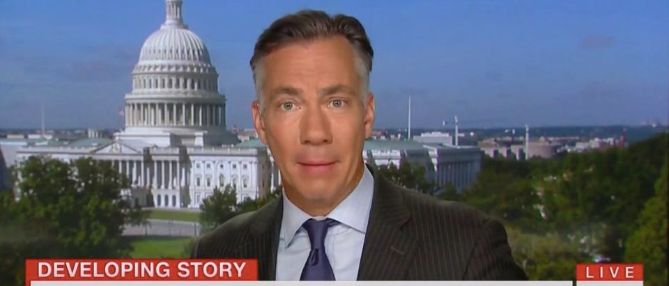 CNN anchor Jim Sciutto (CNN screenshot: August 21, 2019)