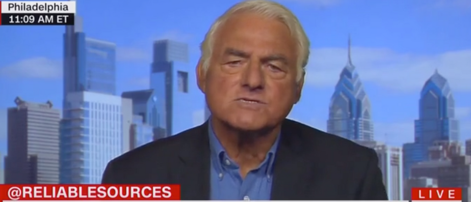 """Dr. Allen Frances, former Chair of Psychiatry at Duke University, appears on """"Reliable Sources."""" Screen Shot/CNN"""