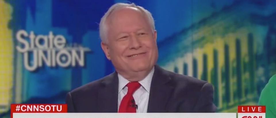 "Bill Kristol appears on CNN's ""State of the Union."" Screen Shot/CNN"