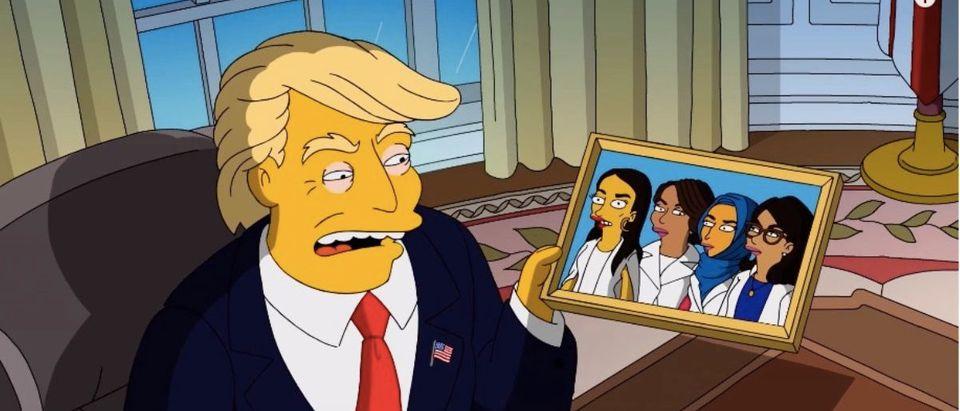 Simpson Trump Parody (Photo: YouTube Screenshot)