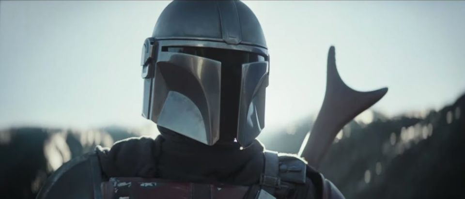 The Mandalorian (Credit: Screenshot/YouTube Video https://www.youtube.com/watch?v=aOC8E8z_ifw&feature=youtu.be)