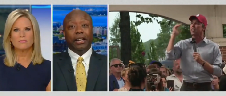 Tim Scott says Beto, Democrats are trying to 'dupe' black voters (Fox News screengrab)