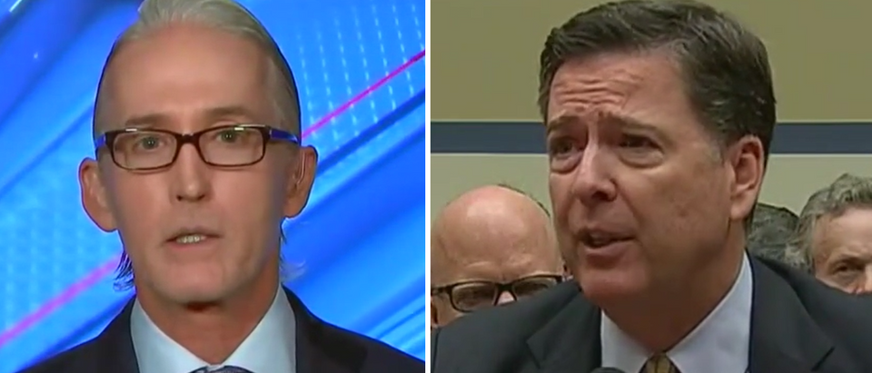 Trey Gowdy isn't going to apologize to James Comey (Fox News screengrabs)