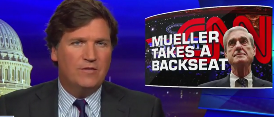 Tucker Carlson and Robby Soave discuss Mueller investigation taking a backseat (Fox News screengrab)