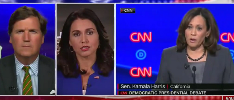 Tulsi Gabbard isn't finished with Kamala Harris (Fox News screengrab)