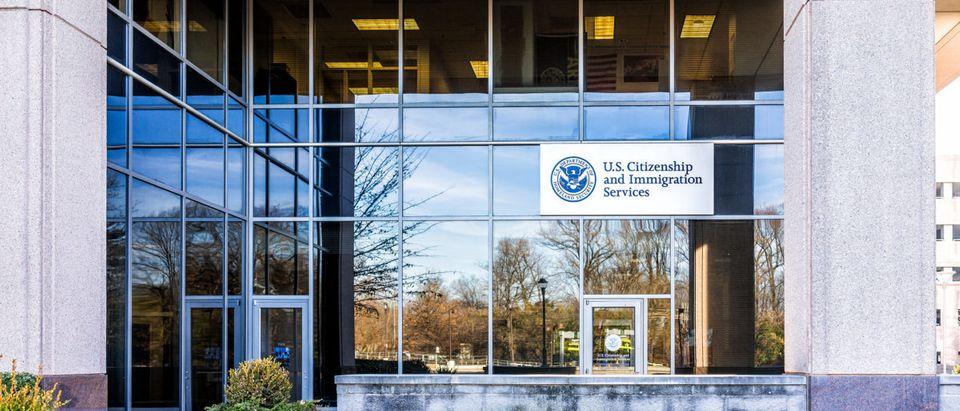 USCIS Office. Shutterstock