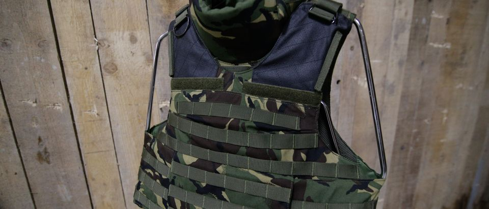 A bulletproof vest is pictured. Photo by Shutterstock