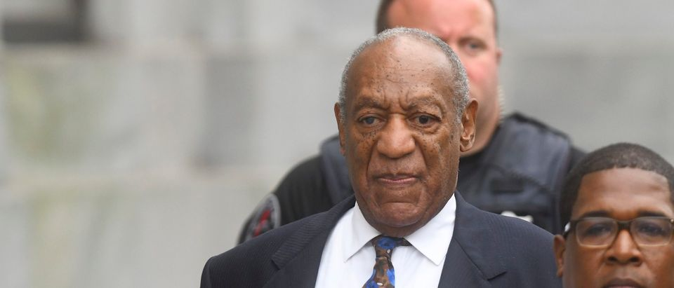 Bill Cosby departs the Montgomery County Courthouse on the first day of sentencing in his sexual assault trial on September 24, 2018 in Norristown, Pennsylvania. (Photo by Mark Makela/Getty Images)