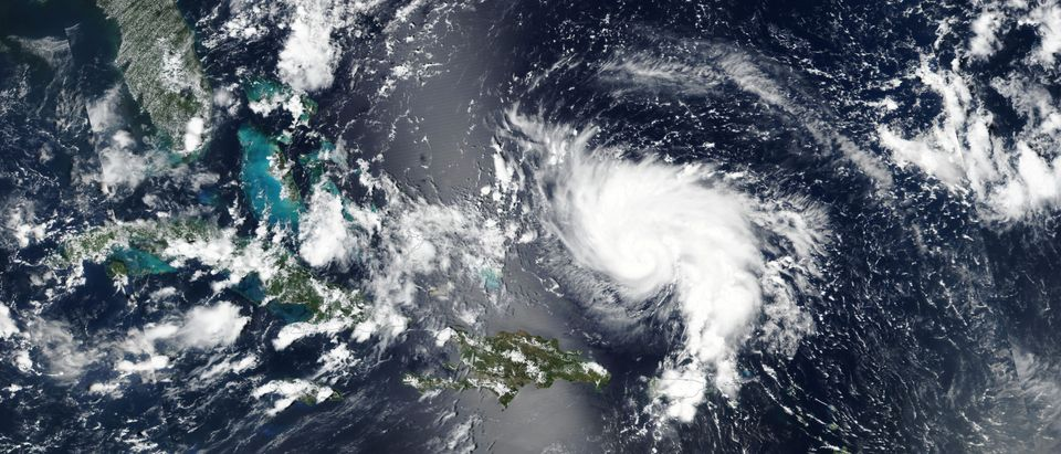 Hurricane Dorian approaches the coast of Florida