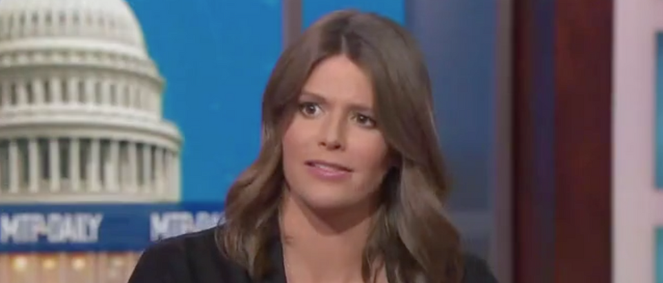 "MSNBC's Kasie Hunt appears on ""Meet the Press Daily"" with Chuck Todd. Screen Shot/MSNBC"