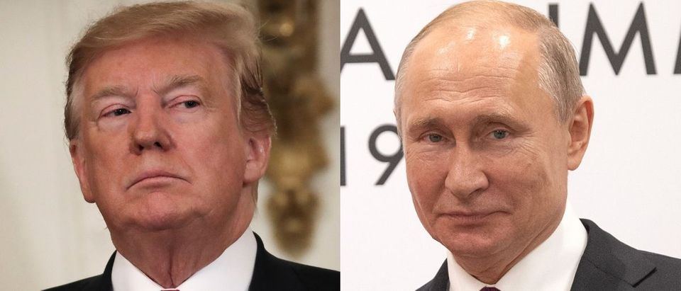 U.S. President Donald Trump (L) and Russian President Vladimir Putin (R) are two leaders of the most powerful countries in the world. Fred Dufour - Pool/Getty Images and Carl Court/Getty Images