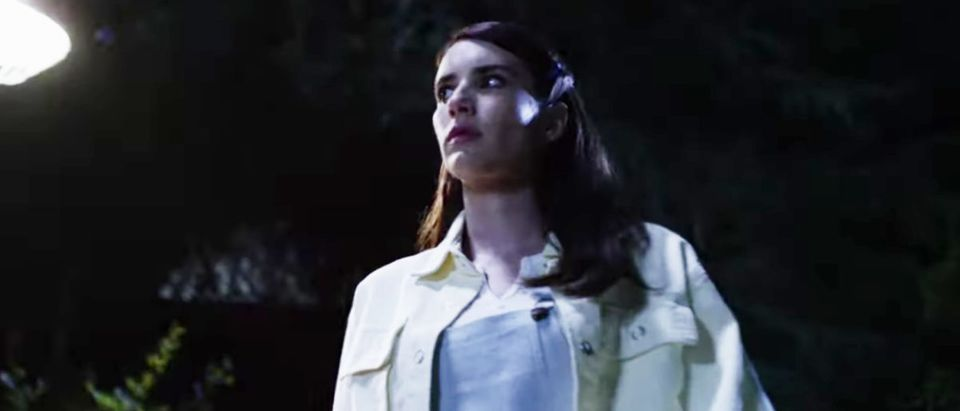 Brooke Thompson (Emma Roberts) has possibly the worst luck of any cast member, running from both Mr. Jingles and The Night Stalker Richard Ramirez.