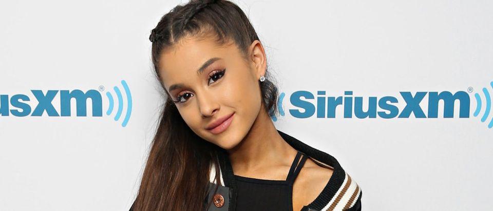 Ariana Grande Visits The SiriusXM Studios
