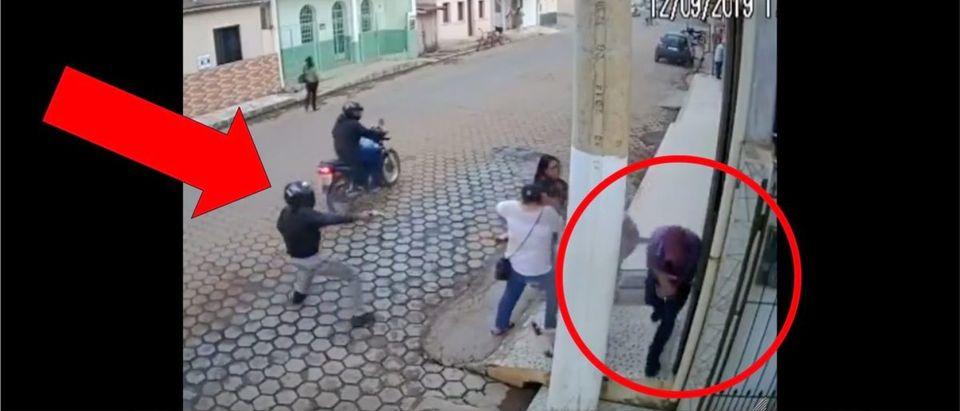 Biker Shooting (Credit: Screenshot/LiveLeak Video https://www.liveleak.com/view?t=kYtMr_1568405714)