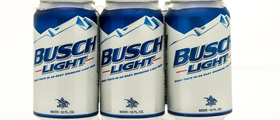 Busch Light (Credit: Shutterstock/Keith Homan)
